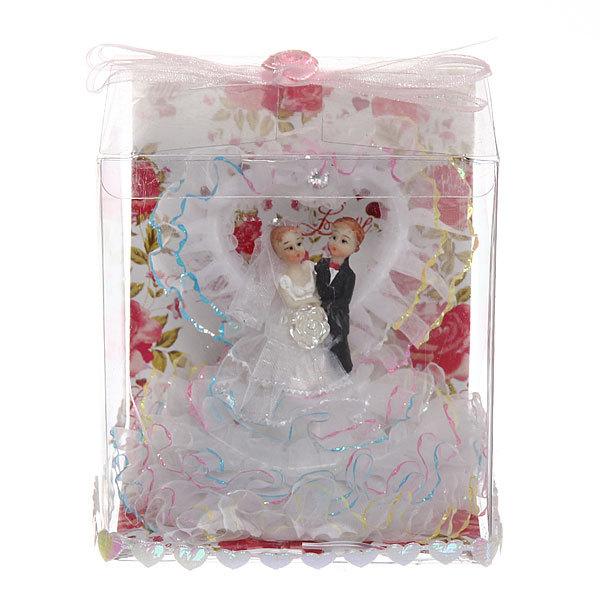 Статуэтка ″Свадебная коллекция″ Сердечко 11*10см 202 купить оптом и в розницу