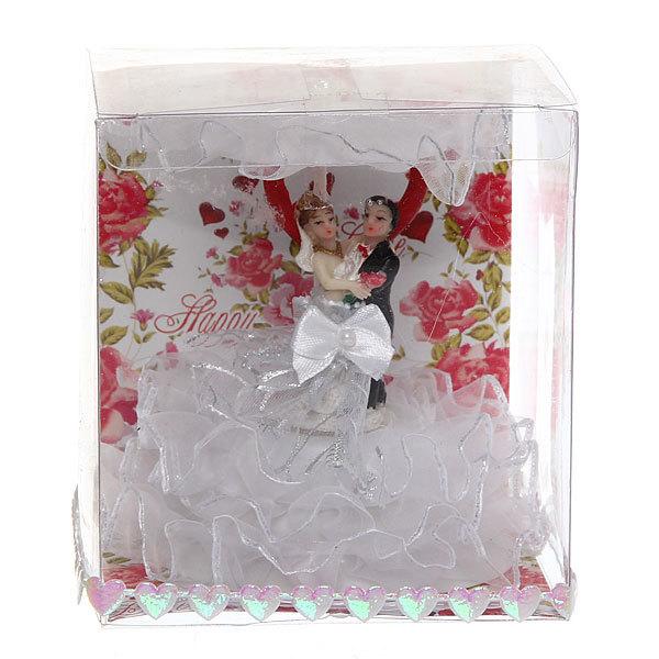 Статуэтка ″Свадебная коллекция″ Под зонтиком 11*10см 203 купить оптом и в розницу