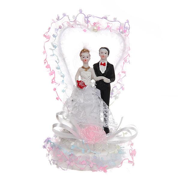 Статуэтка ″Свадебная коллекция″ Сердечко 17*10см 93724 купить оптом и в розницу