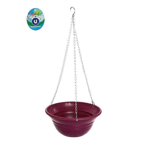 Горшок для цветов ЭКО Подвесной″ 12*27см SHD3 фиолетовый купить оптом и в розницу
