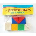 Дер. Счетный материал треугольники 12шт НР-0148 купить оптом и в розницу