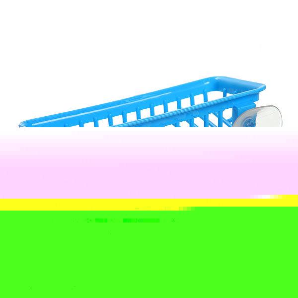 Мыльница на присоске 21.5х10.5 см синяя купить оптом и в розницу