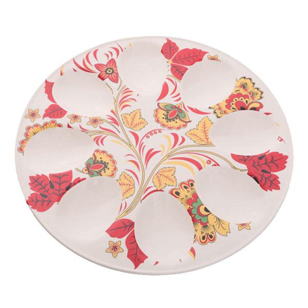Тарелка для яиц 20см роспись купить оптом и в розницу