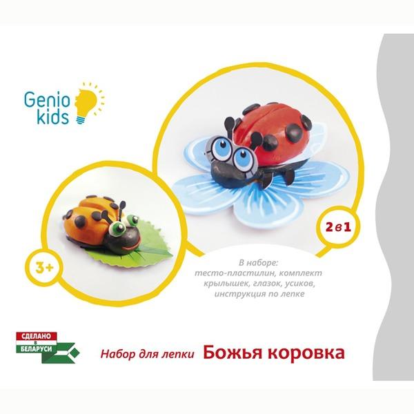 Набор ДТ Тесто для лепки Божья коровка ТА1071-1 /Genio Kids купить оптом и в розницу