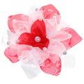 Бант для волос ″Тифани - нежный цветок″, d-16см купить оптом и в розницу
