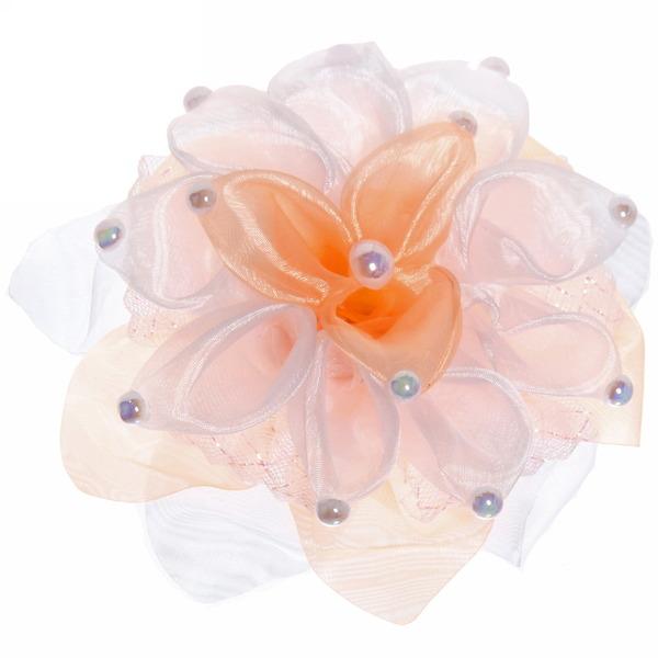 Бант для волос ″Тифани - нежный цветок″, цвет в ассортименте, d-15см купить оптом и в розницу