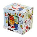 Кружка керамическая 360мл ″Веселое Рождество″ с ложкой, в ассортименте купить оптом и в розницу