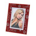 Фоторамка из стекла 10х15см любовь купить оптом и в розницу