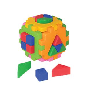 Логич.игрушка Куб умный малыш Логика №2 2469 /интелком/24 купить оптом и в розницу