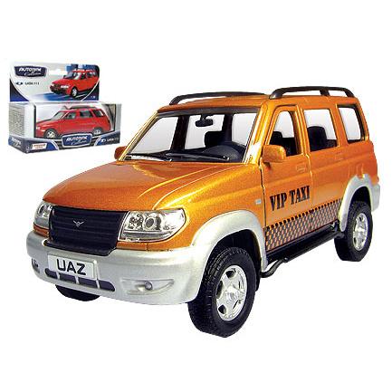 Модель  УАЗ Патриот VIP такси 30189 1:34 купить оптом и в розницу