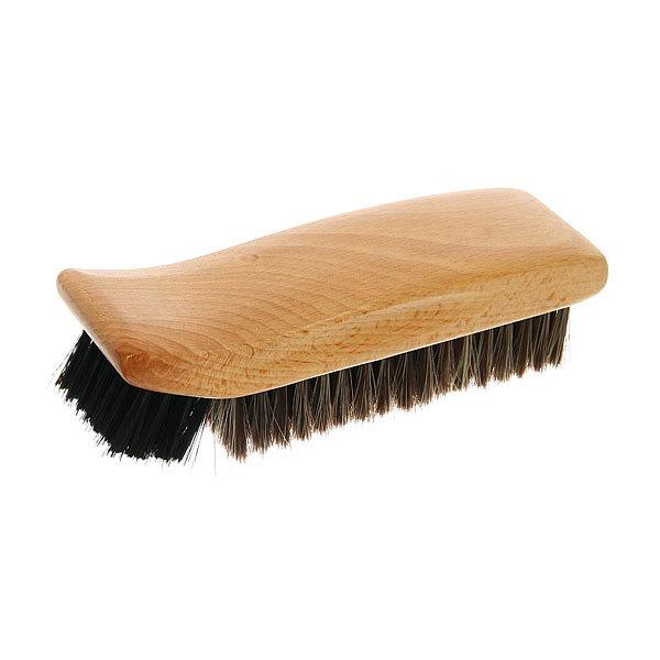 Щетка для обуви деревянная, комбинированный ворс купить оптом и в розницу