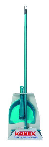"""Комплект для уборки """"комби"""" mix clasic (бордовый/зеленый/синий)/*6шт Konex купить оптом и в розницу"""