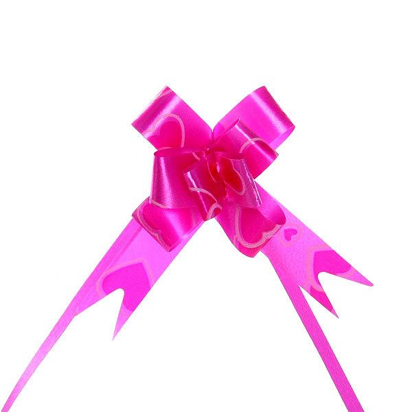 Бант-бабочка ″Малиновое сердечко″, 22 см купить оптом и в розницу
