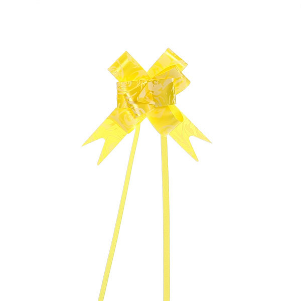 Бант-бабочка ″Желтые розочки″, набор 10 шт. 22 см купить оптом и в розницу