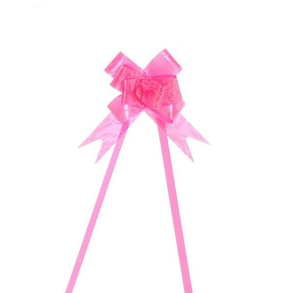Бант-Бабочка (набор 10шт) №12 Розовые розочки 22см 17 купить оптом и в розницу
