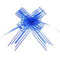Бант-бабочка полоски синие, набор 10 шт., 50 см купить оптом и в розницу