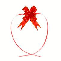 Бант-Бабочка ″Золотая полоса″ (набор 10шт) №23 красный 42см 35 купить оптом и в розницу