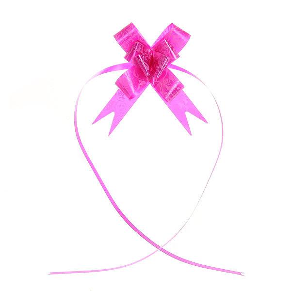 Бант-бабочка розовый, набор 10 шт., 42 см купить оптом и в розницу