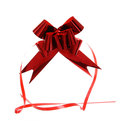 Бант-Бабочка ″Блеск″ (набор 10шт) №50 красный 73см 57 купить оптом и в розницу