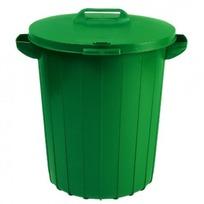 Контейнер для мусора 90 л Curver зеленый/*4 шт купить оптом и в розницу