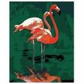 Набор ДТ Роспись по холсту Розовый фламинго 30161 /Креатто/ купить оптом и в розницу