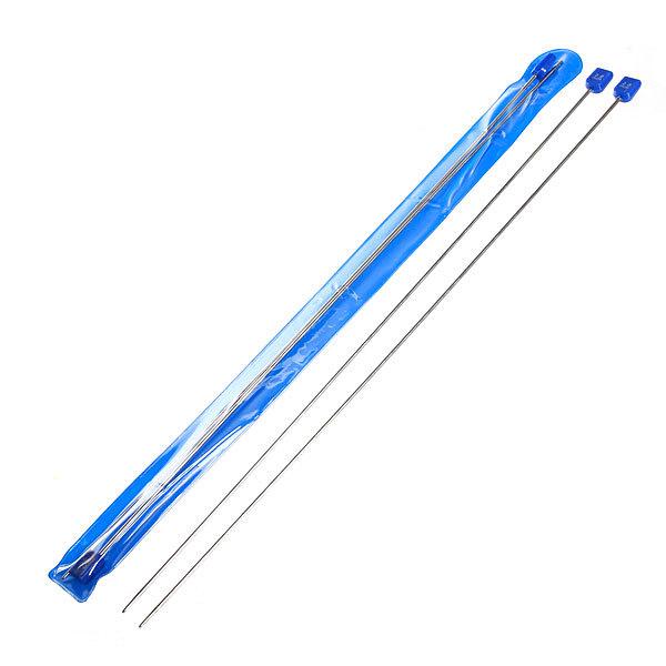 Спицы вязальные прямые стальные 2,0мм 35см купить оптом и в розницу
