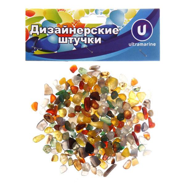 Украшение декоративное ″Камни мелкие″ 100гр цветная россыпь купить оптом и в розницу