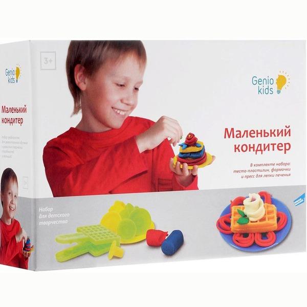 Набор ДТ Тесто для лепки Маленький кондитер TA1028 /Genio Kids купить оптом и в розницу