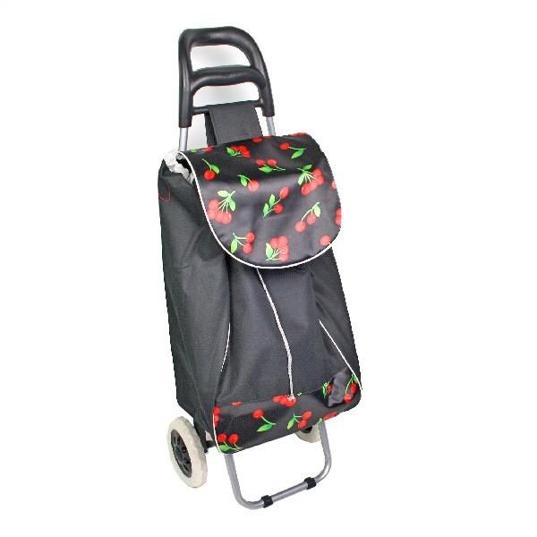 Тележка хозяйственная с сумкой 945-019 цветная (96*36*33см, колеса 16см,грузоподъемность до 30 кг.) купить оптом и в розницу