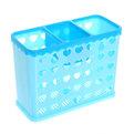 Подставка для столовых приборов 16*7*12см пластиковая, 3 секции купить оптом и в розницу