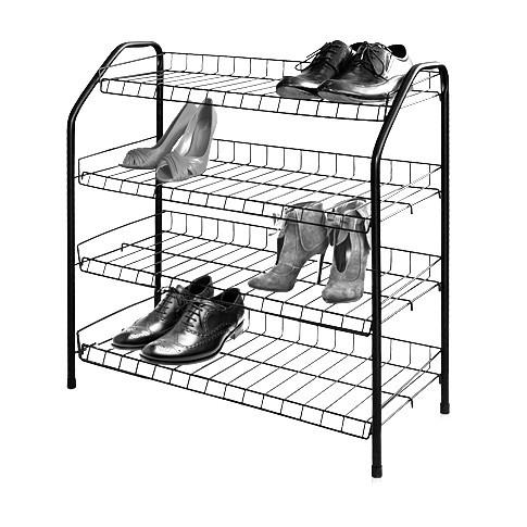 Этажерка для обуви, 4 полки (НИКА) 700х660х300мм купить оптом и в розницу