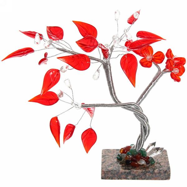 Фигурка стекло Дерево успеха S-10918 купить оптом и в розницу