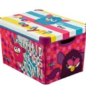 Коробка декоративная (400*300*250) STOCKHOLM L FURBY Curver/5 шт купить оптом и в розницу