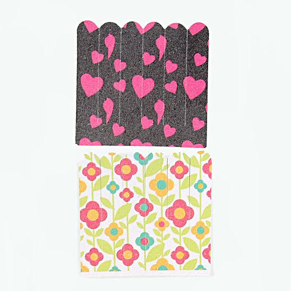 Пилка для ногтей наждачная в пакете прямая ″Эстетика″, в наборе 6шт, рисунок микс,6*5,5см купить оптом и в розницу