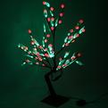 Световое дерево LED 70 см, 108 ламп, ″Шарик прозрачный лист″ купить оптом и в розницу