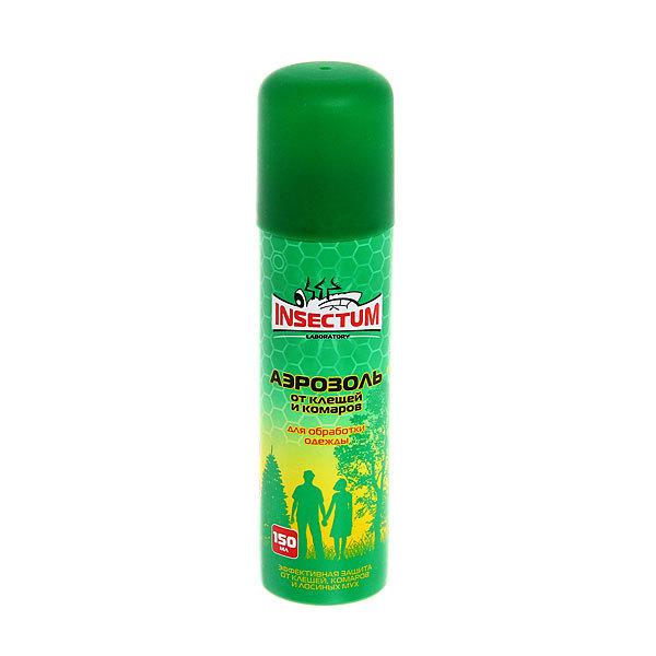 Аэрозоль против клещей и комаров Insectum 150мл купить оптом и в розницу