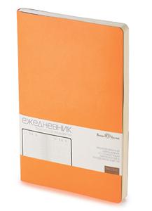 Ежедневник б/дат А5  BV 136л 140*210 MEGAPOLIS FLEX оранжевый купить оптом и в розницу
