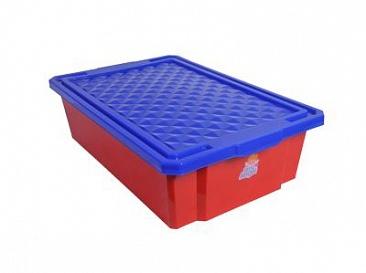 Детский ящик для хранения игрушек средний 30л на колесах*4 купить оптом и в розницу