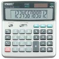 Калькулятор PROFF настольный 12раз 160*152*32мм купить оптом и в розницу