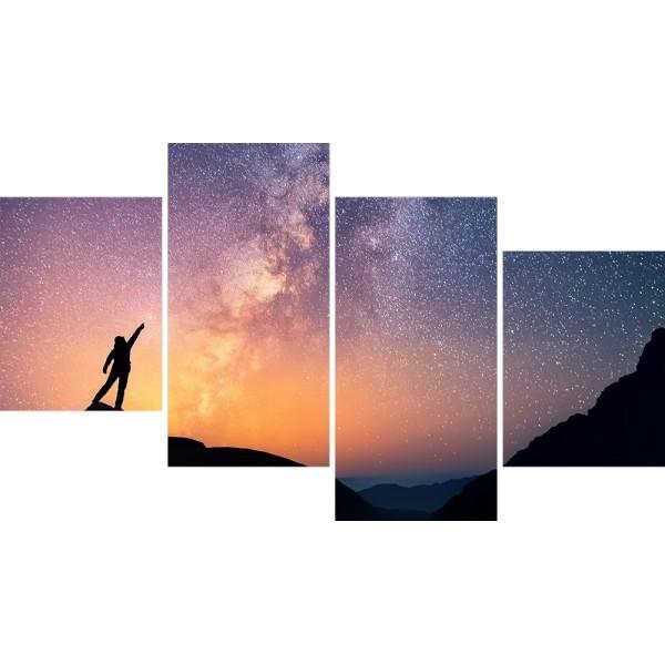 Картина модульная полиптих 60*129 Свобода диз.1 88-03 купить оптом и в розницу