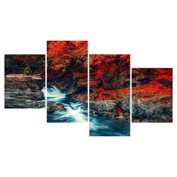 Картина модульная полиптих 60*129 Природа диз.29 89-03 купить оптом и в розницу