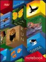 """Блокнот А6 160л.кл.сшивка,интегр.обл.HATBER, """"Animal""""s mosaic"""" купить оптом и в розницу"""