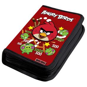 Пенал 1отдел.с нап.средний Limpopo AngryBirds красн. купить оптом и в розницу