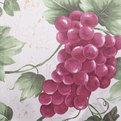 Скатерть ″Ассорти″ 120*150см полиэстер, виноград Ультрамарин купить оптом и в розницу
