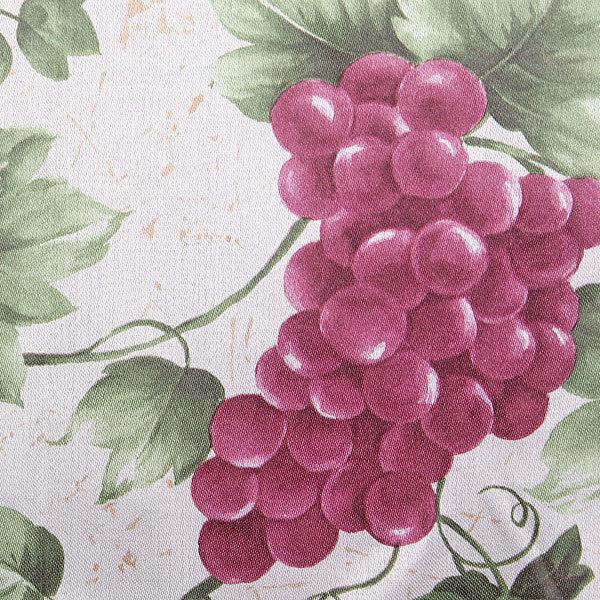 Скатерть ″Ассорти″ 140*180см полиэстер, виноград Ультрамарин купить оптом и в розницу