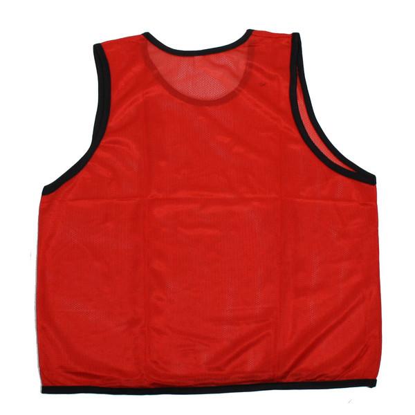 Манишка тренировочная (односторонняя, красный) купить оптом и в розницу
