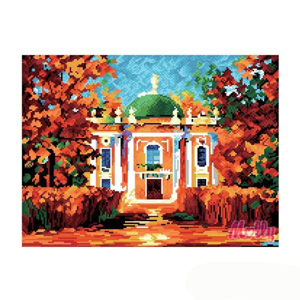 Набор ДТ Картина со стразами Родовое поместье GL059 купить оптом и в розницу