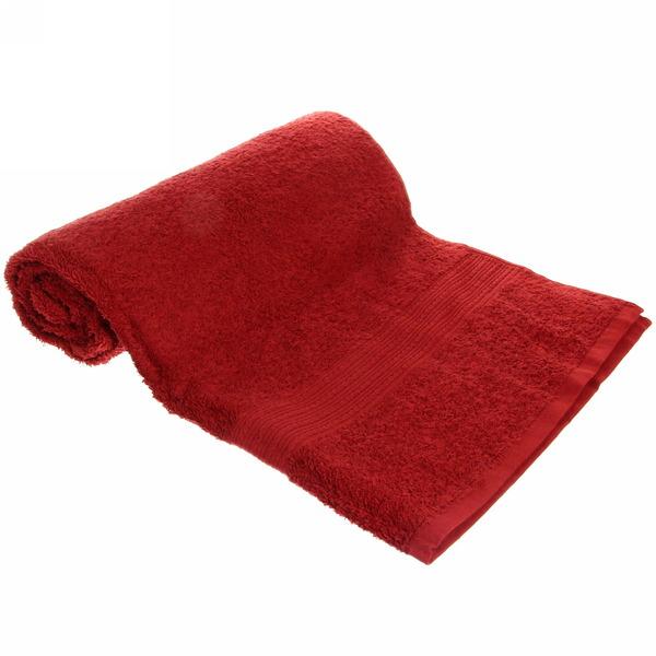 Махровое полотенце 70*140см шоколадное ЭК140 Д01 купить оптом и в розницу