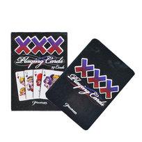 Карты игральные (54шт) XXX для покера с пластиковым покрытием купить оптом и в розницу