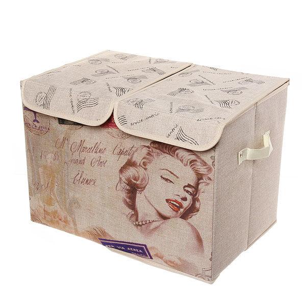 Коробка д/хранения вещей 47*31*34 C53 купить оптом и в розницу